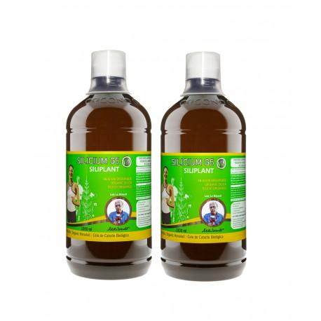 2 garrafas Silicium G5 Siliplant 1000 ml