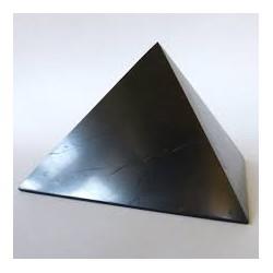 Pirâmide shungite 7 cm lado