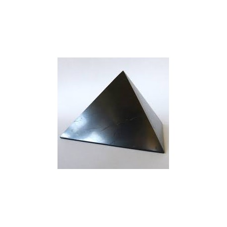 Piramide de shungita lado 7 cm