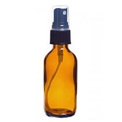 Boccetta in vetro ambrato 60ml con vaporizzatore spray
