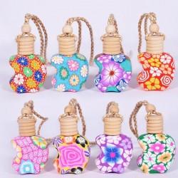 Flacons céramique pomme colorée pour parfum 12ml