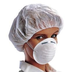 Masque jetable à trois couches (type coquillage) - 1 boite de 50u.