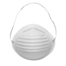 Máscara sanitária de três camadas e tipo concha (1 caixa de 50 u.)