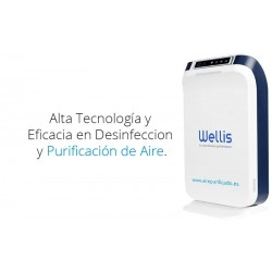 Purificador desinfectante Wellisair