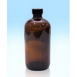Flacone in vetro con tappo a vite sigillato da 500 ml