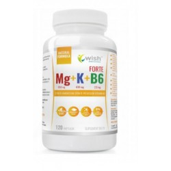 Magnesio + Potasio + Vitamina B6 |120 cápsulas
