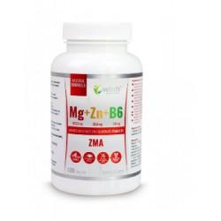 Magnesio + Zinc + Vitamina B6 |120 cápsulas