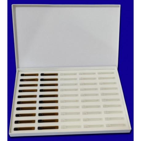 Caja de 50 ud. Frascos de perfume de 2ml