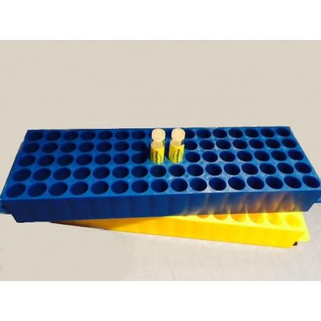 Estante para tubos y microtubos