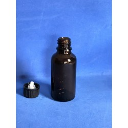 Botella ambar 30 ml cuentagotas U2