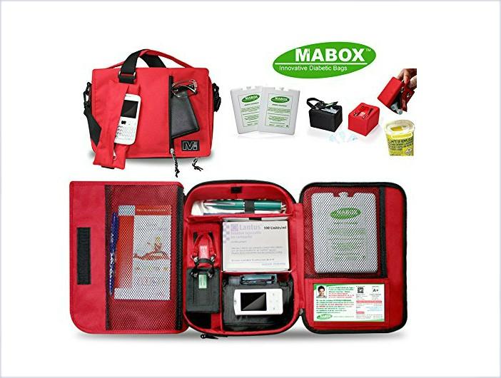 Pochette isotherme diabete Mabox